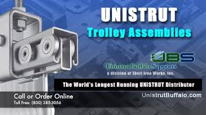 mounting options for unistrut trolley emblies see special offer below you