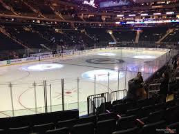 Madison Square Garden Section 114 New York Rangers