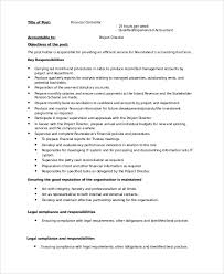 Job Profile Of Document Controller Sample Controller Job Description 9 Examples In Word Pdf