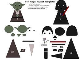 star wars template star wars finger puppet templates grant michael gardner
