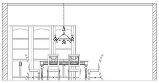 dining chair side elevation cad block. novel dining table: table cad elevation || 942x499 / 121kb chair side block