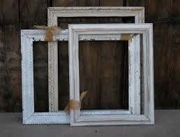 mixed large shabby white frames 10 each