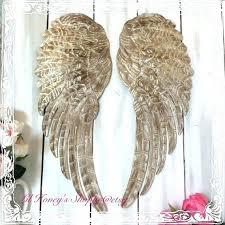 awesome inspiration ideas metal angel wings wall decor small home decoration art large black for