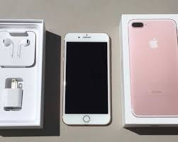 apple iphone 7 rose gold box. apple iphone 7 plus 256gb rose gold at\u0026t in box with all original accessories - delhi iphone o