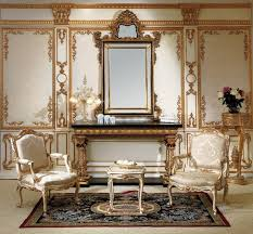 baroque style bedroom classic furniture entrance console and mirror in antique inspired furniture