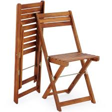 wooden furniture set balcony patio folding table chairs fsc camping outdoor