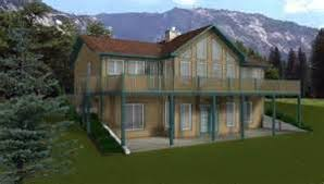 House Plans Design Direct   VAlineHouse Plans   Walkout Basement