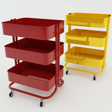 IKEA Trolley RASKOG 3D model