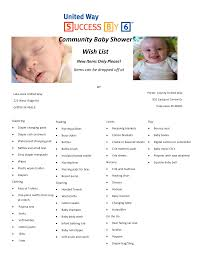 Stuff You Need For A Baby Shower Image Collections - Handicraft ...