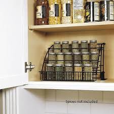 Rubbermaid Coated Wire In Cabinet Spice Rack Mesmerizing NEW RUBBERMAID KITCHEN InCabinet Pulldown SpiceRack Storage