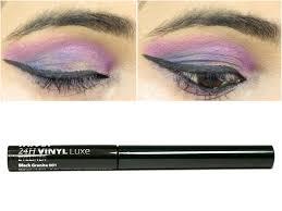 nykaa 24hrs vinyl luxe eyeliner black