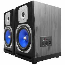 speakers monitor. powered 600 watt studio monitor speakers with 5\