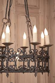 lighting outstanding vintage wrought iron chandelier 20 vintage black wrought iron chandelier