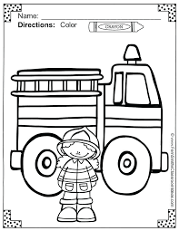 Fire Safety Coloring Sheets Kids Fire Prevention Coloring Pages ...