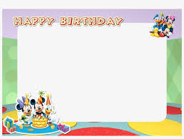 printable mickey mouse friends birthday