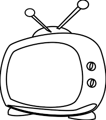 watching tv clipart black and white. pin tv clipart black and white #9 watching