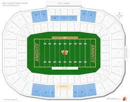 Specific Ucf Football Stadium Seating Chart University Of