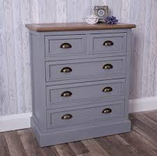 ascot range grey chest of drawers