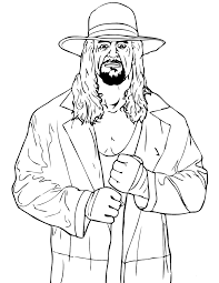 Small Picture Wrestler Coloring Pages Sting Wrestler Colouring Pages Wrestling