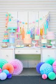 beautiful pops of color are a great way to decorate for a baby shower or kid party with lots of really cute ideas