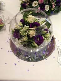 Fish Bowl Decorations For Weddings Jessica May evim için Pinterest Fishbowl Rose and Flower 45