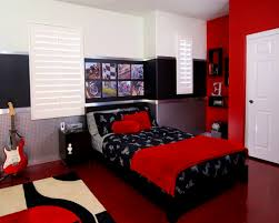 Bedroom : Heavenly Red Black White Bedroom Decor Ideas And Board ...