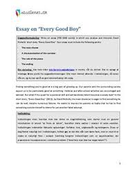 eksempel pa essay om every good boy dk eksempelbesvarelse eksempel pa essay om every good boy