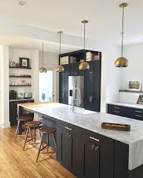 black cabinet hardware. Loving Black Painted Cabinetry With Brass Accents Shown In The Pendant Lights And Cabinet Hardware. Hardware B