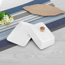<b>6</b>/<b>8 Inch</b> Top Ceramic <b>Butter</b> Dish Box Container Holder <b>Butter</b> ...