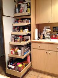 tall pull out pantry pull out pantry tall pullout storage outs plenty foods and colorful drinking