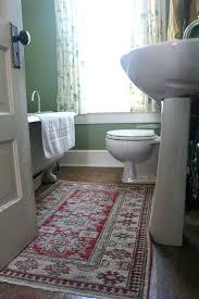 rug in bathroom rugs small spaces fair trade