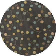 round indoor area rug