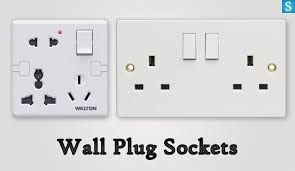 plug sockets have diffe pin types