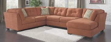 N Ordinary Rust Colored Sofa 97 With