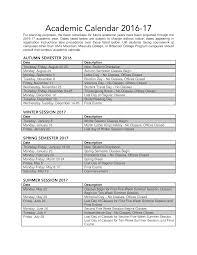 Printable Weekly Academic Calendar Templates At