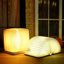Mood Lamp Book Light Led Book Light Color Folding Night Bedside Table Lamp