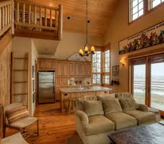 open kitchen design farmhouse: farmhouse open kitchen living room myideasbedroom com