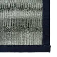 icustomrug silver grey natural fiber sisal area rug 6 feet x 9 feet 6 x