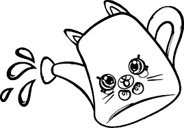 Shopkins Coloring Pages For Kids Coloring Book Image S Coloring
