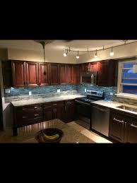 Allen Roth Shimmering Lights Fabu Wood Cabinets In Espresso St Cecilia Granite And Allen