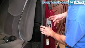 how to install replace rear extended cab door handle chevy silverado  at 1999 Gmc 1500 Sle Xcab Wire Diagram