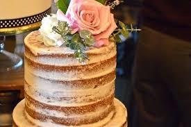 Wedding Cake Flavors And Fillings Naked Vanilla Wedding Cake Wedding
