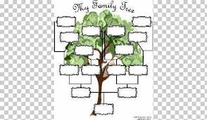 Genealogy Family Tree Forms Genealogy Family Tree Template Diagram Chart Family Png Clipart