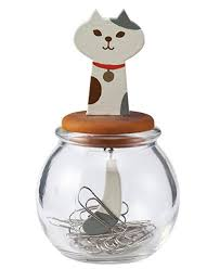Magnetic Paperclip Holder Magnetic Cat Paperclip Holder Good Cat Gifts