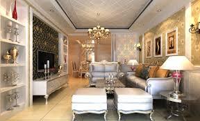 luxury home lighting. modren home luxury villa living room lighting rendering in home lighting d