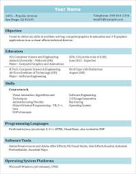 College Resume Format Marvelous Student Resume Format Best Sample