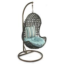 Hanging chairs for bedroom is made of a round seat that has enough ...