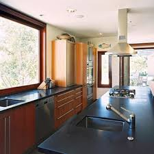 Awesome Kitchen 15 Galley Style Kitchen With Cooktop And Prep Sink Amazing Galley  Kitchen Design Ideas