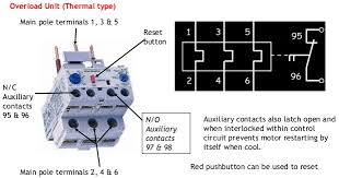 direct online starter dol starter Pictorial Contactor Relay Wiring Diagram overload unit of dol starter Start Stop Contactor Wiring Diagram