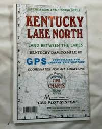Details About Atlantic Mapping Kentucky Lake North Geographic Gps Waterproof Map